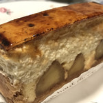 104704904 - ★★★☆ シブースト パリッ、とろ〜、シャリ、サク、色々な食感と酸味、甘味、苦味を一度に味わます