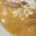 らぁめん 一福 - このスープ。侮ることなかれ。