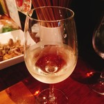 恋文酒場 かっぱ - ハウスワイン 白  400円