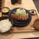 Butanikusemmontentonkatsunori - 190329上ヒレカツ2100円