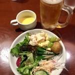 あさくま - ビュッフェと生ビール