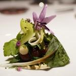 レフェルヴェソンス - 昇り鰹と山菜