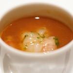 レフェルヴェソンス - 赤海老の茶碗蒸し