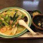 中華 福林 - あんかけの五目炒飯