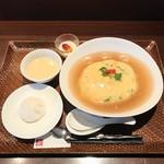 中国料理 桂花 - 天津飯ランチ1000円 ご飯大盛り200円