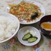 うらふね - 料理写真:肉味噌定食