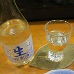 海鮮居酒屋山水 - 宮古の地酒 男山 冷酒