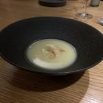 el Bau Decoration - ホワイトアスパラのスープ