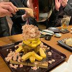 北海道海鮮にほんいち - かにぶっかけ出巻玉子