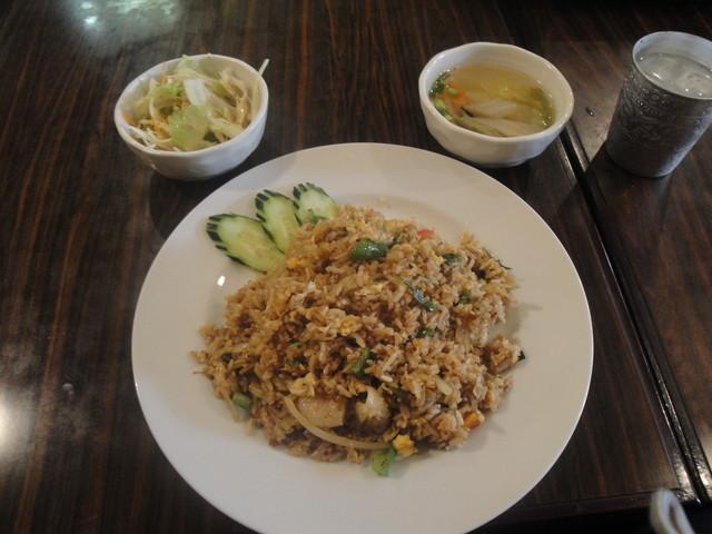 タイ料理 ブアールアン - ランチメニュー「辛味噌チャーハン」