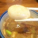 拉麺Shin. - 煮卵トッピング
