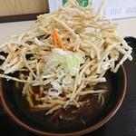 麺処 しかめん - 料理写真:暖かい  ごぼう天そば  850円(税込)