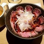 104736231 - ローストビーフ丼:980円税別