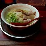 璃王 - ミニラーメン(塩)480円