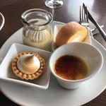 タボラ36 - プリン、ロールケーキ、パンナコッタ、クリームチーズタルト