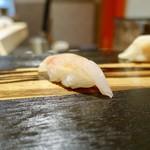 104740274 - [2019/03]寿司② 甘鯛昆布締めの握り