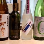 天ぷらと日本酒 明日源 - プレミアムな日本酒