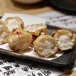 天ぷらと日本酒 明日源 - ホワイトソース天