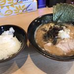 柴田商店 - 【とんこつ醤油らーめん+のり】¥600+¥100