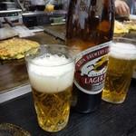 お好み焼き ちとせ - 瓶ビール