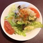 フレンチブルドッグ - ランチサラダ