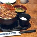 伊豆高原ビール本店レストラン - 漁師の漬け丼膳 ランチ 1,980円
