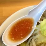 麺屋 にぼすけ - にぼじろう スープアップ