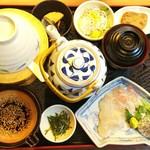 郷土料理 五志喜 - 鯛茶漬けランチ