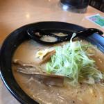 なまら - 料理写真:焙煎味噌ラーメン(大盛)