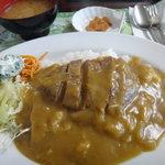 レストラン真珠 - ハンバーグカレー
