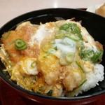 金比羅うどん - ミックス丼です。(2019年3月)