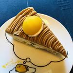 パンプス - 料理写真:モンブラン♪