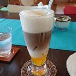 こばとカフェ - マンゴーアイスカフェ