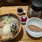 こめらく ニッポンのお茶漬け日和。 - 【2019/3】鯛とアジの漁師ごはん