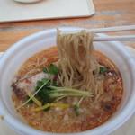 ラーメンダイナー GOGO宝来軒 - 海老豚ソバ(麺)