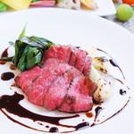 平日限定 Carne e Verdure ~ローストビーフランチ~