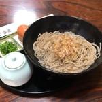 家老 - 釜玉そば800円