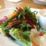 104769512 - 柘榴を使ったサラダは凝っていて美味しかった。