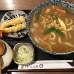 104770063 - 天ぷらカレーうどん1200円です