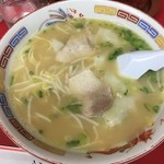 呉龍 - ワンタン麺