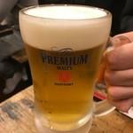 大阪王将 - 生ビール中