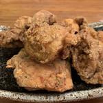 麺飯食堂 三羽鴉 - 自家製鶏からあげ♡¥490(税込)