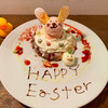 カフェ パンプルムゥス - 料理写真:4月うさピヨパンケーキ