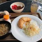 ファミリーイン・フィフティーズ大阪 - 朝食ビュッフェ。