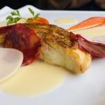 The Grill on 30th - 桜鯛のグリル イベリコ豚チョリソー