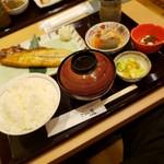 ごはん家 うお福 - 料理写真:とろさば一夜干し定食