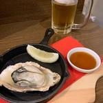 十勝酒場一心 - サービスの牡蠣