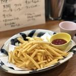 海鮮炉端と土鍋ごはん えびす - ポテトフライ。安定の美味しさ。