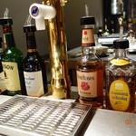 トリ&ハイ 本店  - テーブルの横に手酌セット