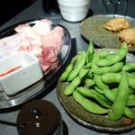 トリ&ハイ 本店  - 枝豆